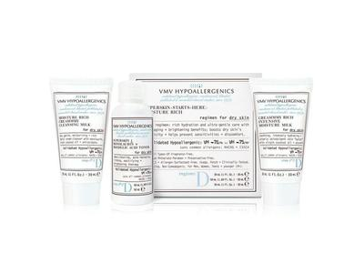 VMV Hypoallergenics Superskin Starts-Here-Set: Moisture Rich for Dry Skin
