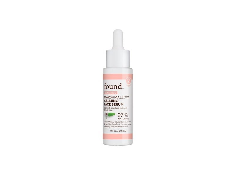 Found Sensitive Marshmallow Calming Face Serum, 1 fl oz