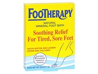 Queen Helene Footherapy Mineral Foot Bath 3 Ounce (88ml) (3 Pack) - Image 2