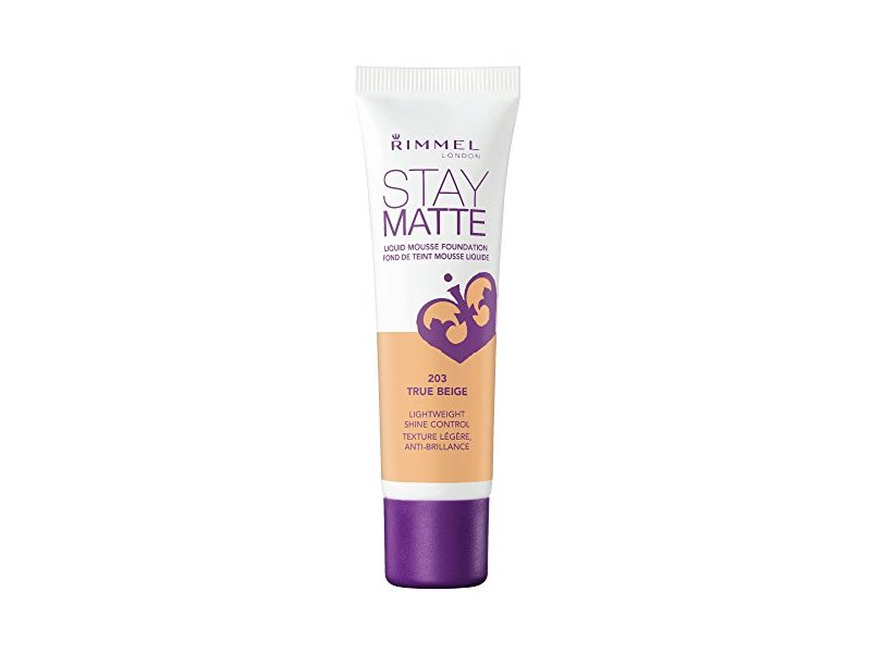 Rimmel Stay Matte Foundation, True Beige, 1 Fluid Ounce
