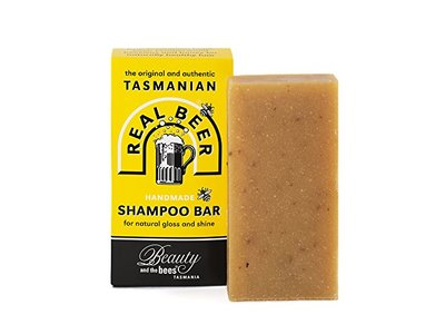 Beauty & The Bees Real Beer Shampoo Bar from Tasmania Australia 100% Natural