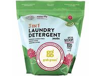 Grab Green Natural 3-in-1 Laundry Detergent Powder, Water Lily, 100 Loads - Image 2