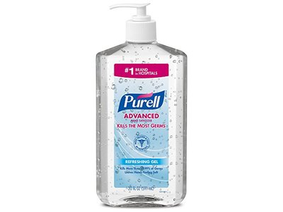 PURELL Advanced Hand Sanitizer Hand Sanitizer Gel, 20 fl oz - Image 1