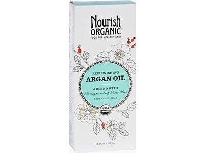 Nourish Organic Argan Oil, Replenishing Multi Purpose, 3.4 oz