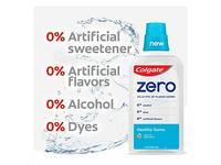 Colgate Zero Mouthwash Healthy Gums, Natural Spearmint, 17.4 fl oz - Image 5