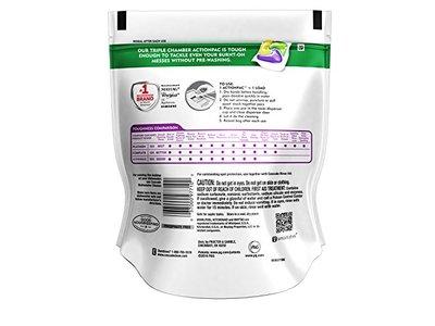 Cascade Platinum ActionPacs Dishwasher Detergent Lemon Scent, 18 ct - Image 3