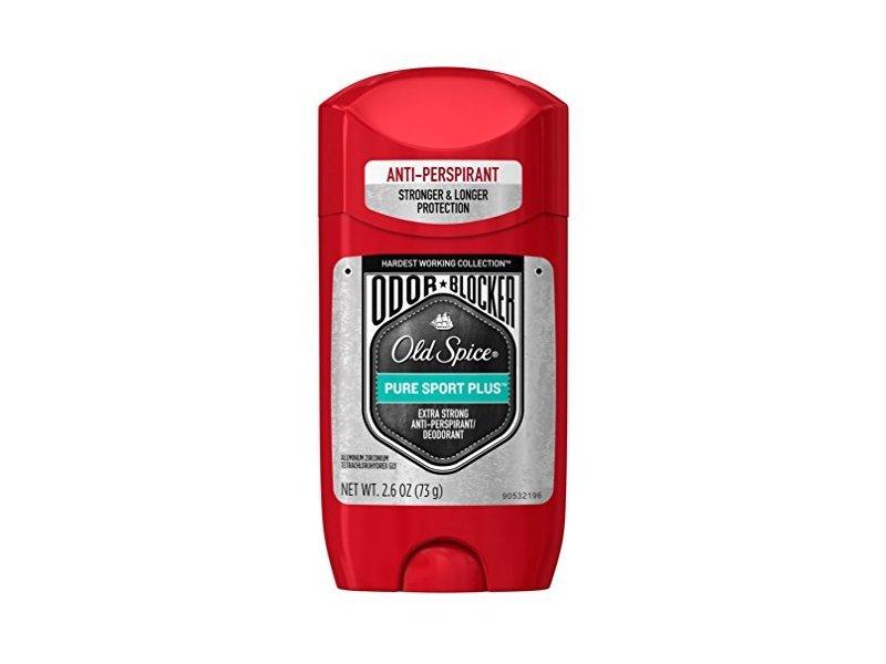 Old Spice Odor Blocking Anti-Perspirant & Deodorant Pure Sport Plus (6 Pack)