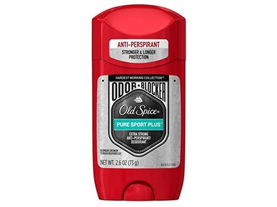 Old Spice Odor Blocking Anti-Perspirant & Deodorant Pure Sport Plus (6 Pack)