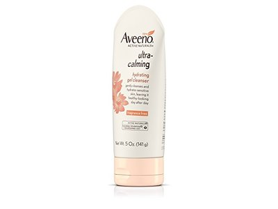Aveeno Ultra-Calming Hydrating Gel Facial Cleanser for Dry and Sensitive Skin, 5 oz - Image 9
