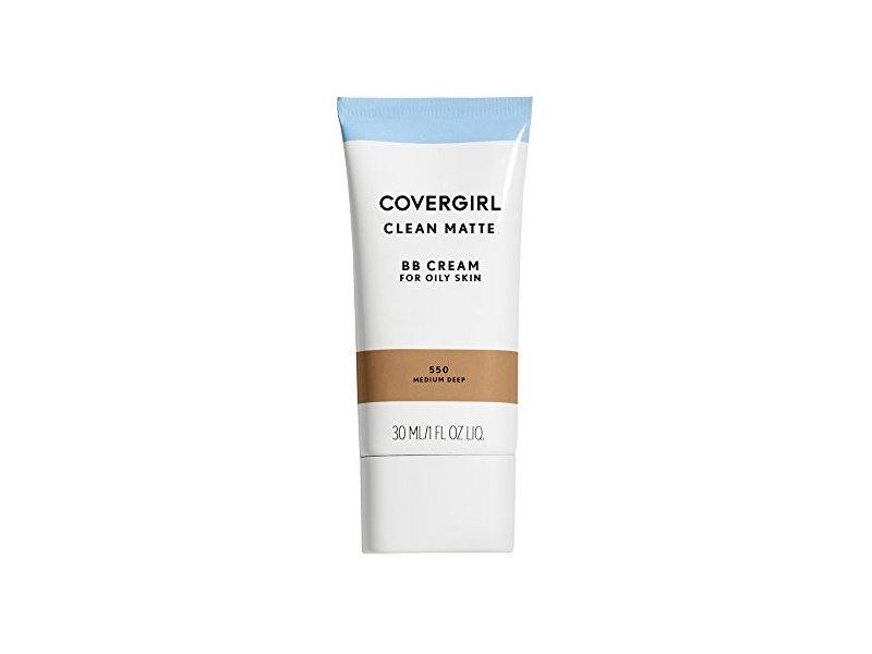 Covergirl Clean Matte BB Cream for Oily Skin, Medium/Deep 550, 1 oz