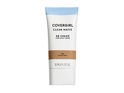 Covergirl Clean Matte BB Cream for Oily Skin, Medium/Deep 550, 1 oz