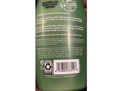 Aveeno Conditioner Refresh & Thicken, Fresh Greens Blend, 12 fl oz - Image 4