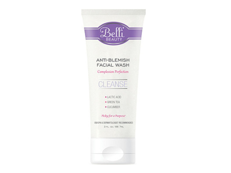 Belli Beauty Anti-Blemish Facial Wash, 3 fl oz