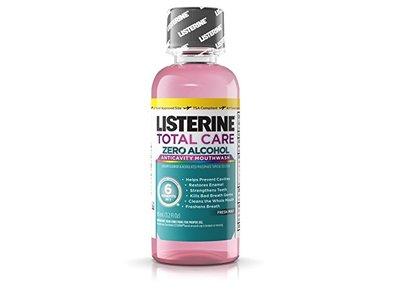 Listerine Total Care Zero Anticavity Mouthwash, Fresh Mint, 95 ml