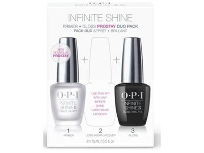 OPI Infinite Shine Prime + Gloss Value Duo Pack, 0.5 fl oz