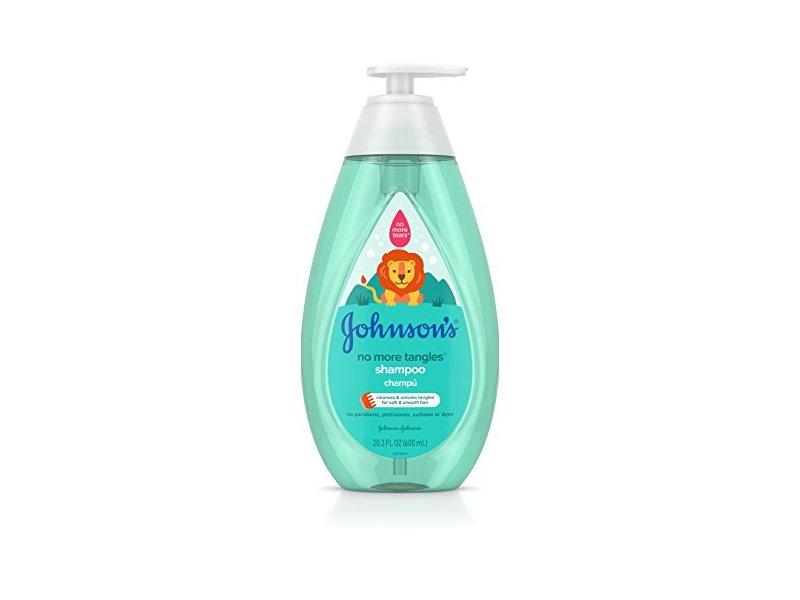 Johnson's No More Tangles Shampoo, 20.3 fl. oz