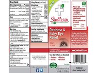 Similasan Redness & Itchy Eye Relief Sterile Drops, 0.33 fl oz - Image 3