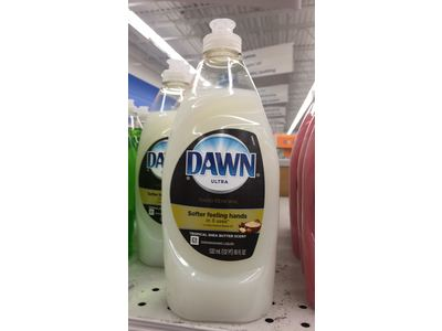 Dawn Ultra Dishwashing Liquid with Olay, Tropical Shea Butter Scent, 18 fl oz - Image 3