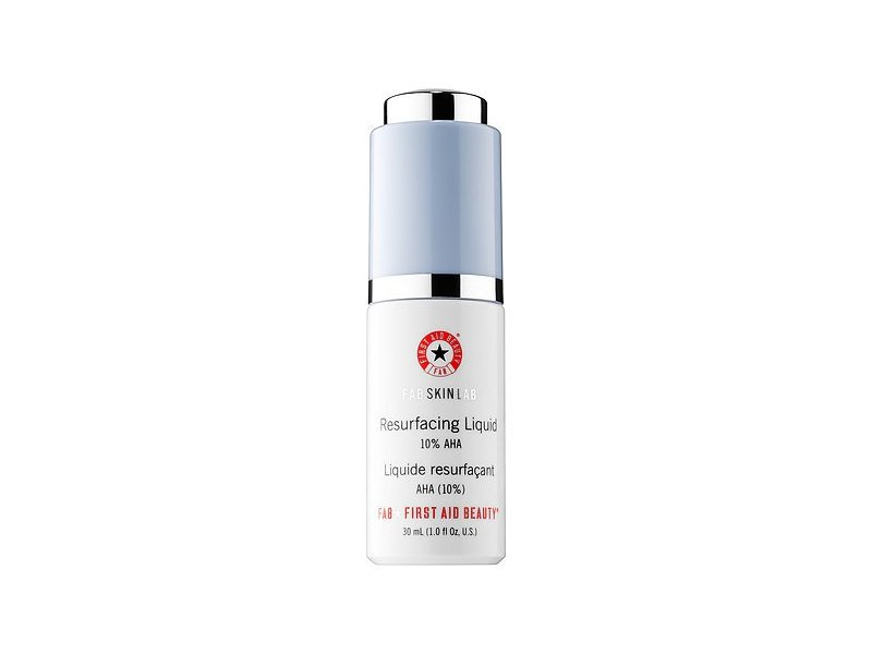 First Aid Beauty FAB Skin Lab Resurfacing Liquid 10% AHA, 1 fl oz