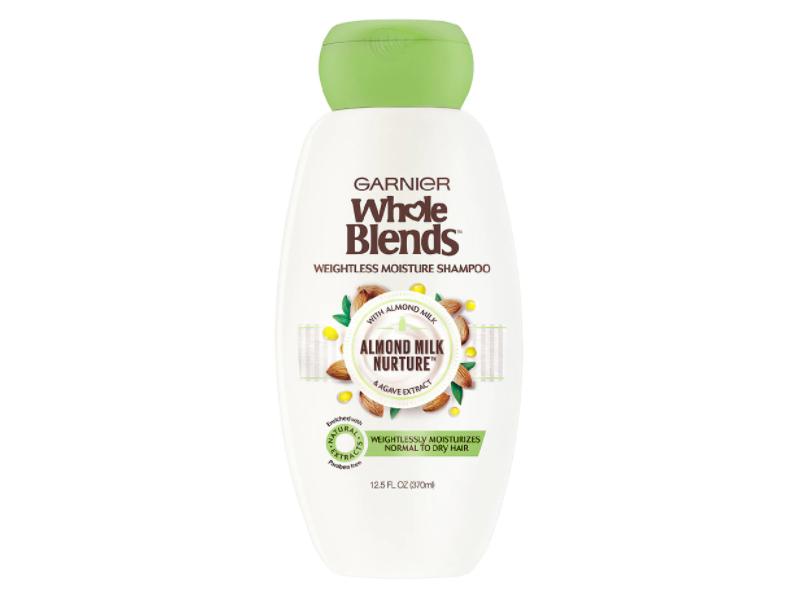 Garnier Whole Blends Weightless Moisture Shampoo, 12.5 fl oz