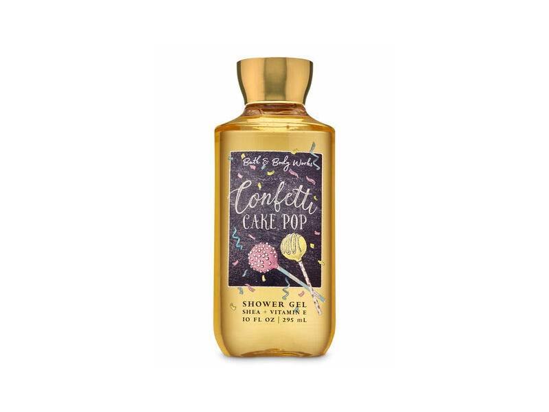 Bath & Body Works Confetti Cake Pop Shower Gel Wash, 10 oz