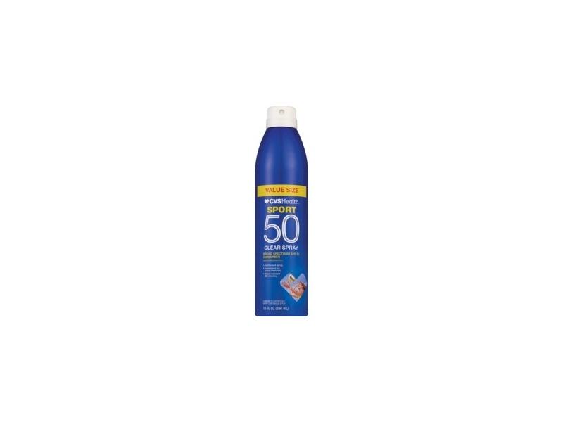 CVS Health Sport Clear Spray Sunscreen Broad Spectrum SPF 50