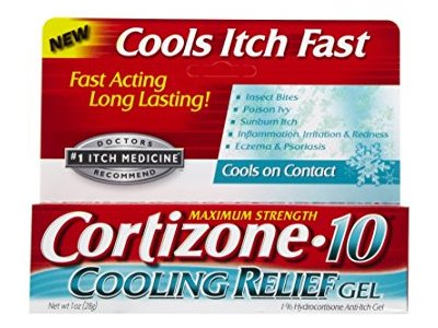 Cortizone-10 Cooling Relief Anti-Itch Gel, 1 oz