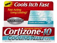 Cortizone-10 Cooling Relief Anti-Itch Gel, 1 oz - Image 2