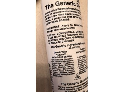 Generic Value Products Smoothing Serum, 6 fl oz - Image 4