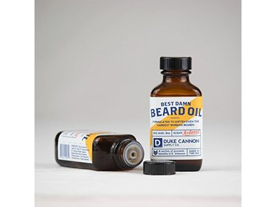 Duke Cannon Best Damn Beard Oil, Redwood, 3 Ounce - Image 4
