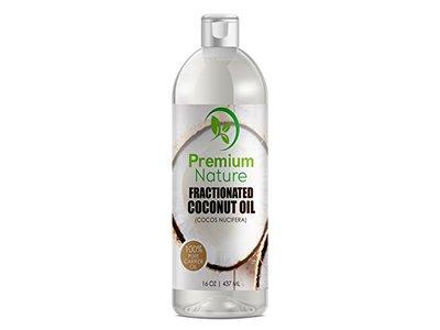Premium Nature Fractionated Coconut Oil 16 oz,