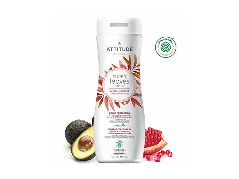 Attitude Natural Color Protection Shampoo, Super Leaves, 16 fl oz