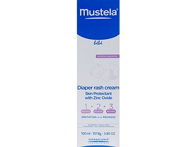 Mustela 123 Diaper Rash Cream, 3.8 oz - Image 4