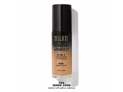 Milani Conceal + Perfect 2-in-1 Foundation + Concealer, Warm Sand, 1 fl oz - Image 6