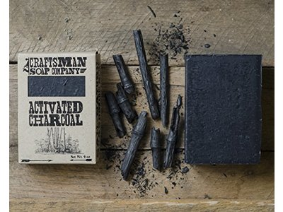 Craftsman Soap Company Activated Charcoal Bar Soap, 4 oz