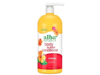 Alba Botanica Body Builder Conditioner, Mango, 32 oz/907 g