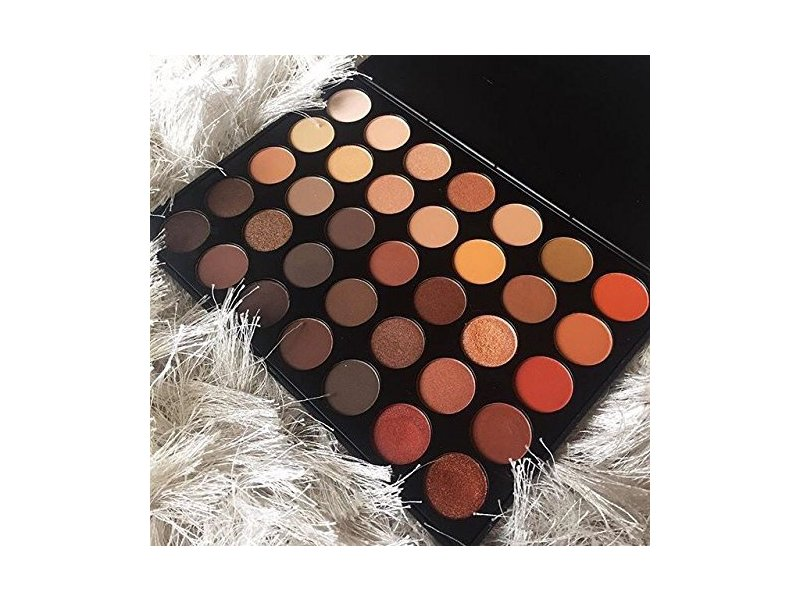 Morphe 350-35 Color Nature Glow Eyeshadow Palette