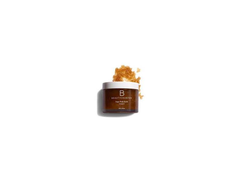 BeautyCounter Sugar Body Scrub, Lemongrass, 8.2 oz