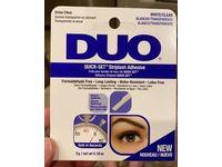Duo Quick-Set Striplash Adhesive, White/Clear, 0.18 oz/5 g - Image 3