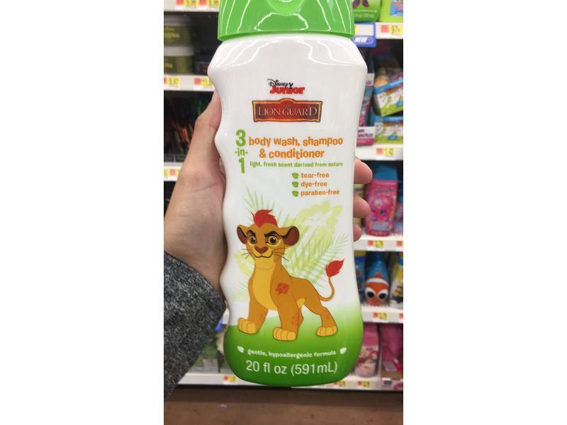 Disney Junior The Lion Guard 3-in-1 Body Wash, Shampoo, & Conditioner, 20 fl oz