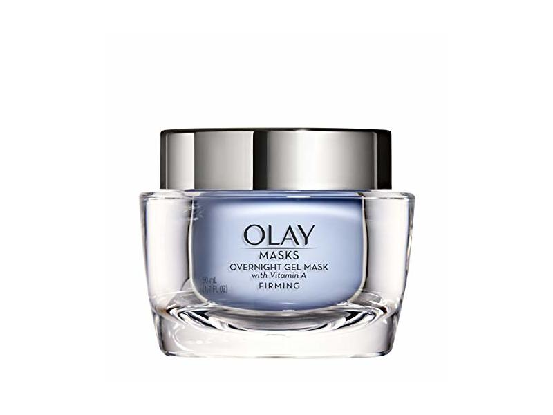 Olay Face Mask Gel, Overnight Facial Moisturizer with Vitamin A for Firming Skin, 1.7 Fl Ounce