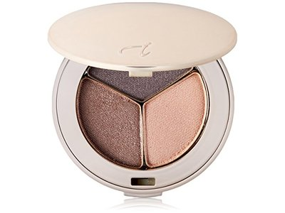 Jane Iredale PurePressed Eye Shadow Triple, Brown Sugar, 0.1 oz / 2.8 g