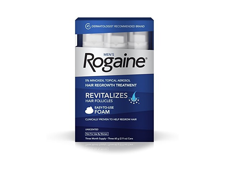 Rogaine Foam, Men's, Three Month Supply