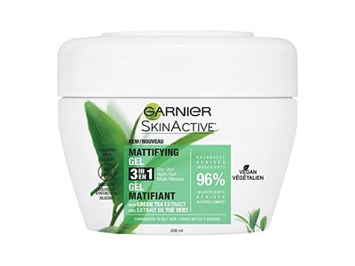 Garnier SkinActive 3-in-1 Face Moisturizer with Green Tea, Oily Skin, 6.75 fl. oz.