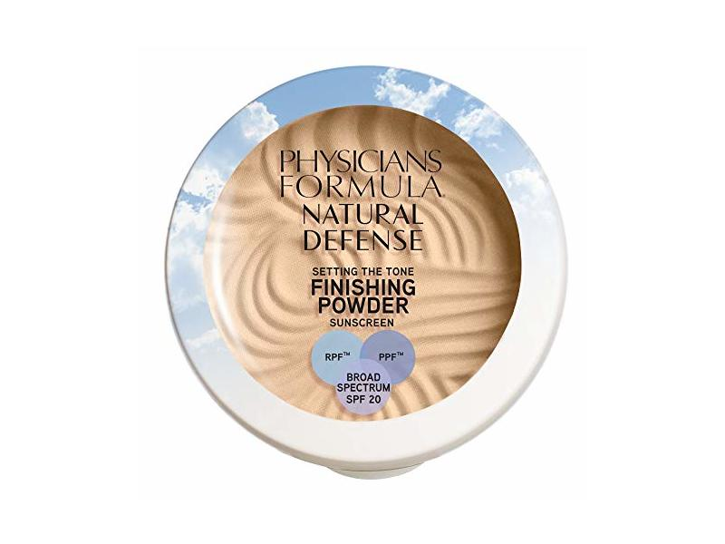 Physicians Formula Natural Defense Setting the Tone Finishing Powder SPF 20, Light, 0.35 Ounce