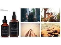 Organic Moroccan Argan Oil for Hair, Face, Skin, Nails (4oz) - Image 8