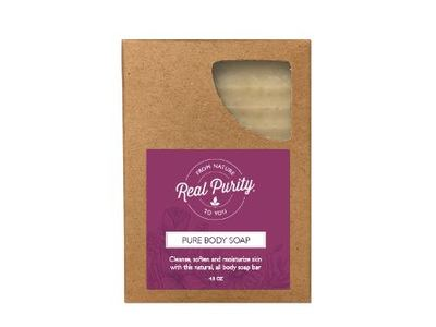 Real Purity Pure Body Soap Bar, 4.5 oz