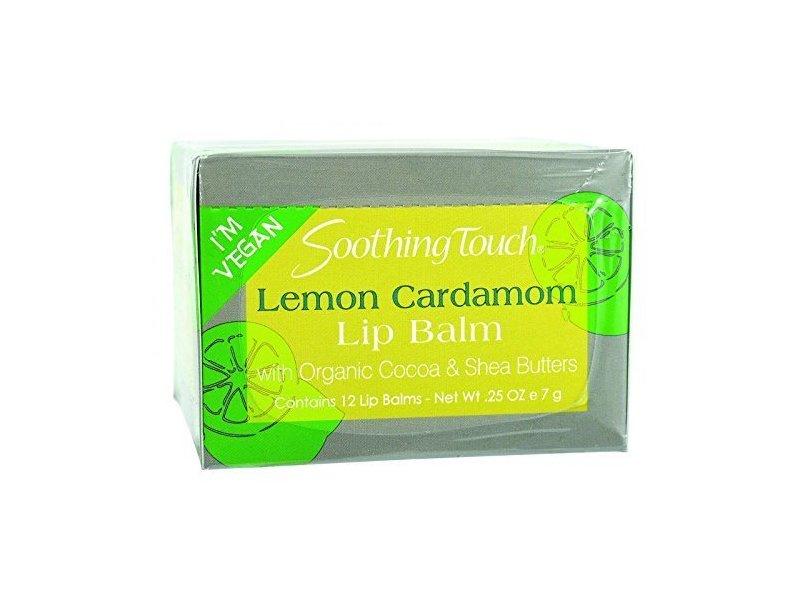 Soothing Touch Lemon Cardamom Lip Balm, 25 oz/7 g