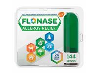 Flonase Allergy Relief Nasal Spray, 24 Hour Non Drowsy Allergy Medicine, Metered Nasal Spray - 144 Sprays - Image 2
