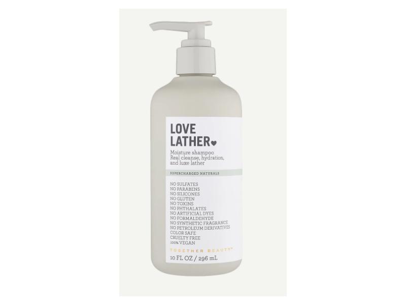 Love Lather Moisture Shampoo, 30 fl oz/296 mL